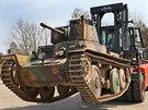 Vojenskému muzeu v Lešanech sloužil tank i při dynamických ukázkách, nemohl ale...