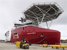 Loď australského námořnictva Ocean Shield vyplula z přístavu v Perthu v pondělí...