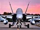 Letouny F-18 Hornet finských vzdušných sil