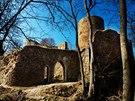 Vojensk� �jezd Brdy - hrad Valdek