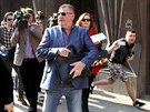Podnikatel a lobbista Ivo Rittig odchází z budovy policie na pražském Perštýně....