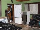 Pěstírnu konopí v Kyjích odhalil zkrat elektřiny a pracovník energetiky.