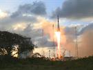 Start nosné rakety s družicí Sentinel 1A na palubě. 3.4.2014 3. Kourou ...