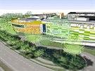 Nová vizualizace Parku Malšovice (únor 2014).