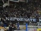 PÁN POHÁRU? Transparent, který vyvěsili brněnští fanoušci, si vypůjčil repilku...