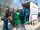 Z brněnské zoologické zahrady ve čtvrtek dopoledne odvezli samičku ledního...