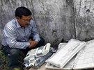 Přípravy na indické parlamentní volby vrcholí. Členové volební komise za