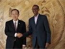 Výročí rwandské genocidy si do Kigali přijel připomenout i generální tajemník