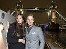 Aneta Vignerová a Michal Zeman v Londýně