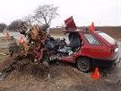 V březnu 2013 zemřel po nárazu do stromu v křižovatce u Ratají padesátiletý...
