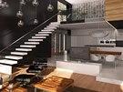 Rodinný dům v Kunraticích - návrh Jaromír Pizinger