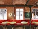 Restaurace - Praha 1, návrh Jaromír Pizinger
