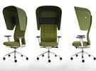 Antonio Citterio a jeho židle ID Trim Cap pro značku Vitra - na výběr je řada