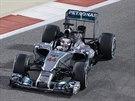 Britský jezdec formule 1 Lewis Hamilton během kvalifikace na Velkou cenu...