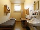 Cela věznice v Landsbergu, kde stráví tři a půl roku Uli Hoeness, bývalý