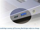 Pravděpodobný vzhled zdířek pro rozhraní USB 3.1