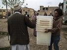 Příprava prezidentských voleb v Afghánistánu (4. dubna 2014)