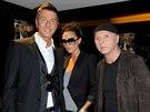 Stefano Gabbana, Victoria Beckhamov� a Domenico Dolce (10. kv�tna 2009)