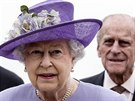 Britsk� kr�lovna Al�b�ta II.a jej� man�el princ Philip na n�v�t�v� Vatik�nu (3.