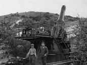 Moždíř firmy Krupp známý pod názvem Gamma se vyráběl v období první světové...