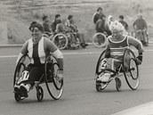 Mezinárodního maratonu přátelství se v roce 1987 účastnily i dvě ženy, Anna