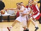 Momentka z utkání Svitavy - Nymburk.
