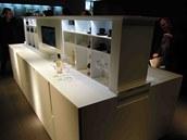 Na veletrhu Eurocucine v Miláně předvedli výrobci i velký ostrůvek, v jehož