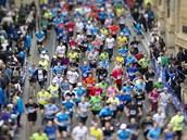 Momentka z Pražského půlmaratonu