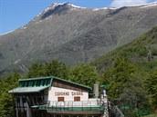 Horská chata Capanna Chiara v nadmořské výši 1 450 metrů