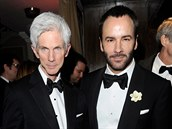 Richard Buckley a Tom Ford (21. února 2010)