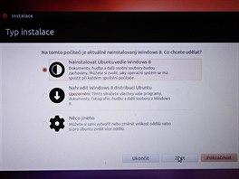 Instalace Ubuntu