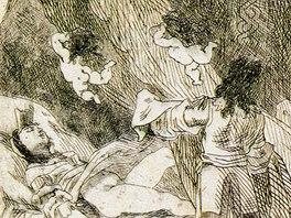 Félicien Rops: Lupanie, milostný příběh z dnešní doby (1668). Vyprávění o cestě