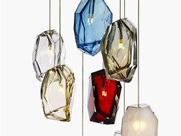 Arik Levy navrhl pro Lasvit lustr Crystal Rock.