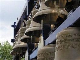 Probouzení Kutné Hory. Zvonohra byla postavena v letech 2000–2001 ve spolupráci...