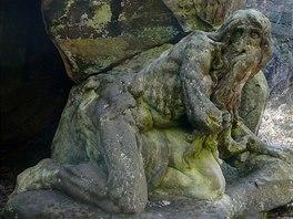 Jedna z mnoha Braunov�ch soch