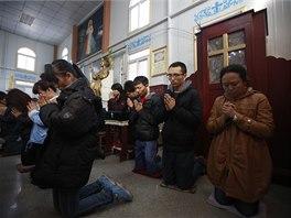 Čínští křesťané (ilustrační foto).