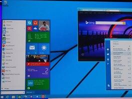 Připravované Startovací tlačítko s menu, které se možná do Windows vrátí v...