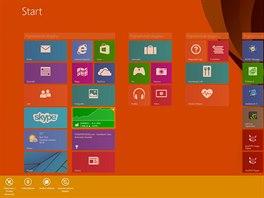 P�vodn� Windows 8.1 nab�zeli kontextov� menu k aplikac�m na vysunovac� spodn�...