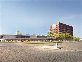 Vítěznou podobu komplexu Nová Palmovka navrhl známý architekt Josef Pleskot.