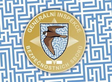 Vzor odznaku Generální inspekce bezpe�nostních sbor�.
