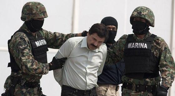 Spadla klec. Dvaadvacátého února 2014 policie Guzmána zatkla, jeho moc to ale