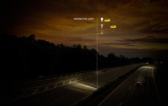 Další z návrhů designéra Daana Roosegaardeho. Interaktivní světlo by mohlo...