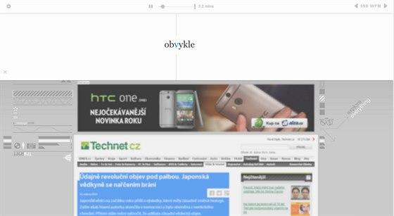 Bookmarklet Squirt.io běží přímo v prohlížeči a skoro z jakékoli stránky si...