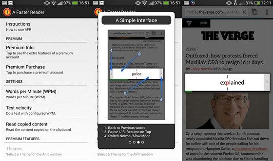 A Faster Reader nabízí asi nejjednodušší rozhraní pro čtení přímo v prohlížeči....