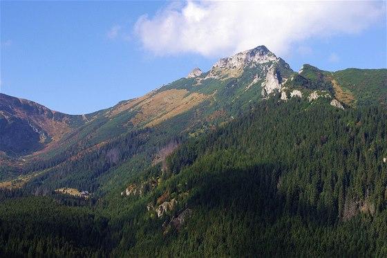 Giewont, Kondracké sedlo a Dolina Kondratowa s turistickou chatou