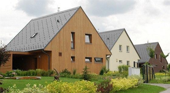 Novostavby mají užitnou plochu od 128 do 175 metrů čtverečních na pozemcích od...