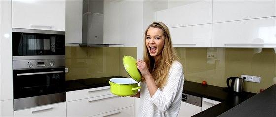 Prvním jídlem, které Gabriela v nové kuchyni uvařila, byly těstoviny. Italskou...