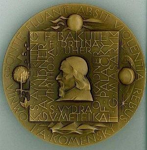 Bronzová medaile za vynikající pedagogickou činnost