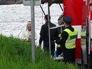 V Labi u zdymadla v Dolních Beřkovicích na Mělnicku se našlo tělo muže...