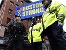 Boston zůstane silný, hlásal jeden z transparentů  (15. dubna)